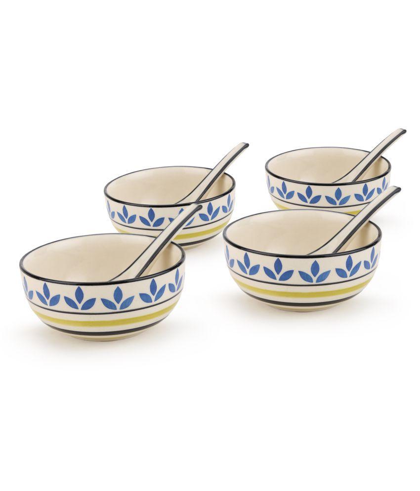 Kittens 4 Pcs Ceramic Soup Set 350 ml