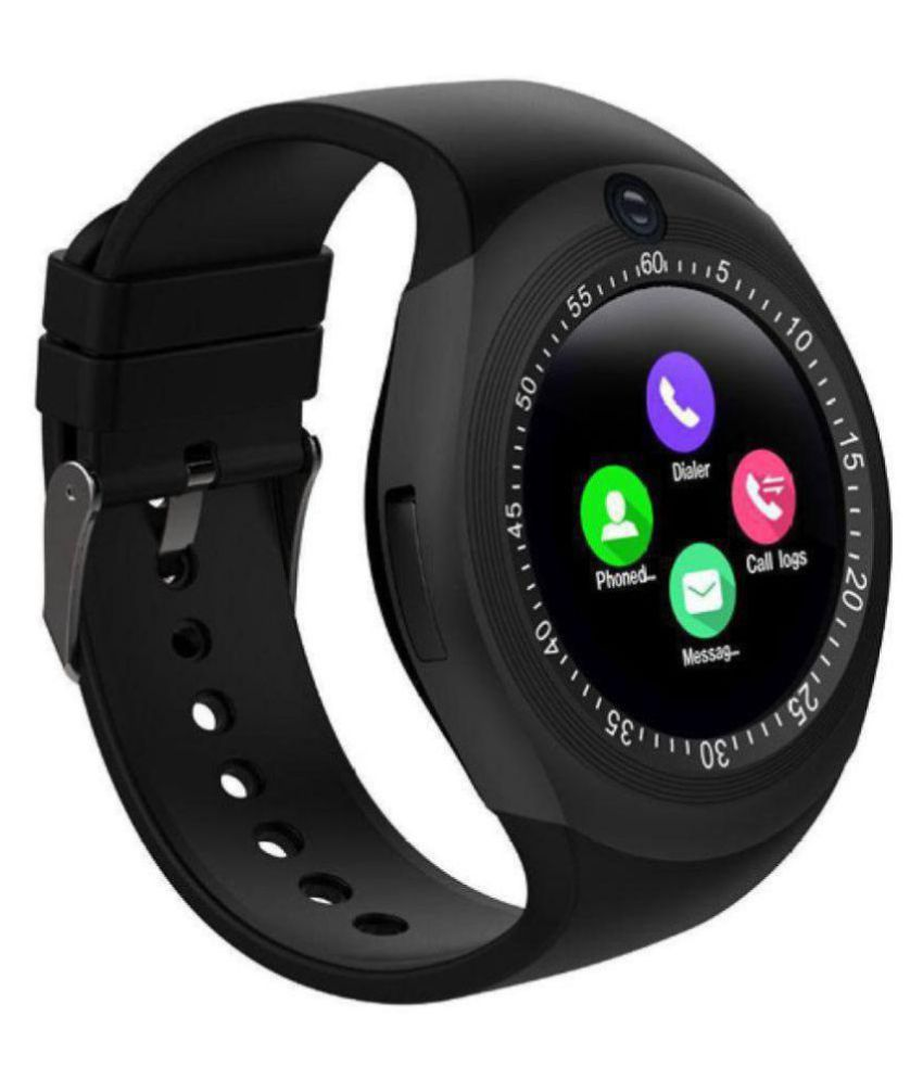 3bddd1bee33 ... MacCare Y1s Camera Smart Watch with Bluetooth Smart Watches ...