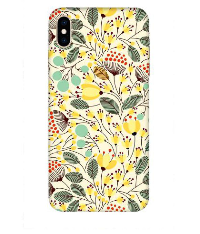 Apple iPhone XS Printed Cover By Emble