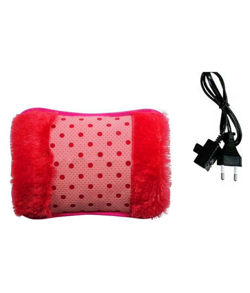 An American hot pad Velvet with Hand Pocket for Pain Relieve Electric Hot Water Bag Heating Gel Pad