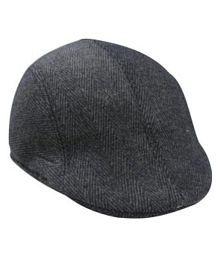 Quick View. Tahiro Black Cotton Caps cfadc11b940e