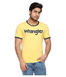 17320411144 Wrangler T Shirts: Buy Wrangler T Shirts Online at Best Prices in ...