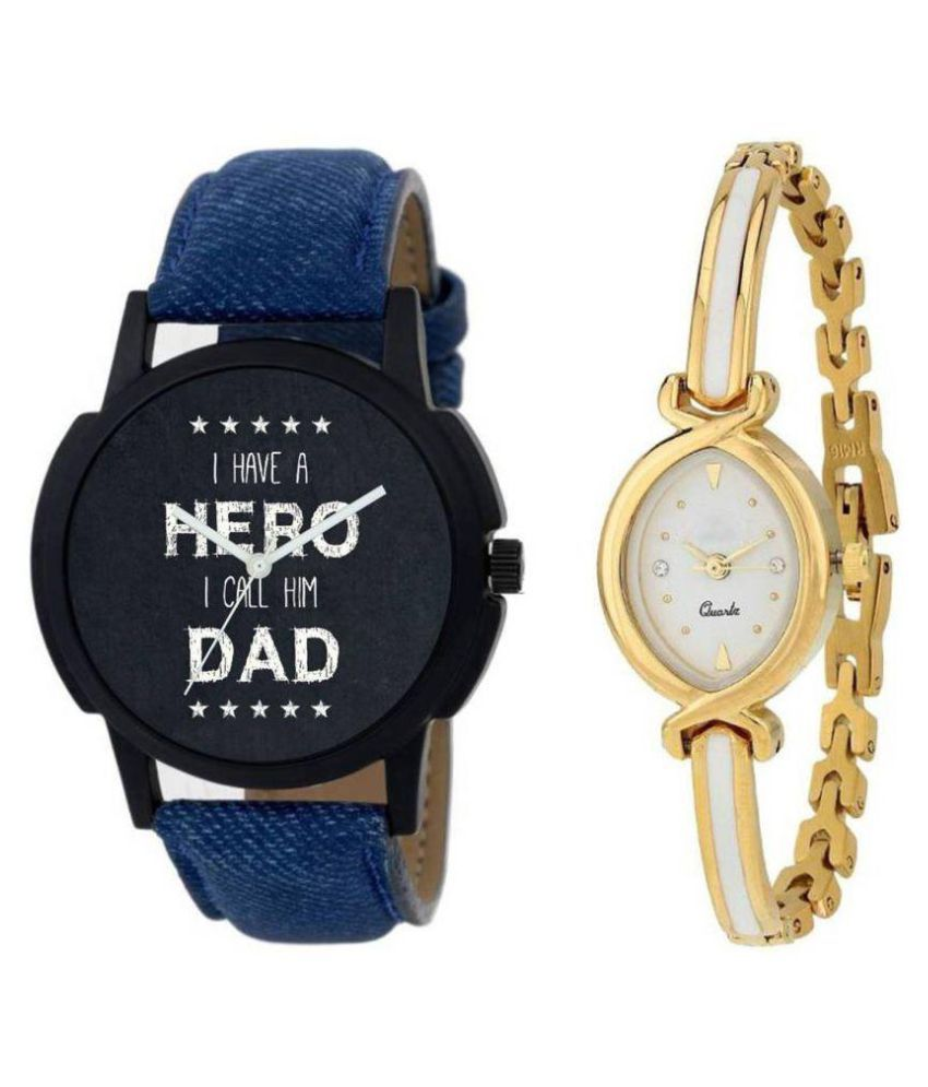 NEW SUPER ANALOG WATCH FOR COUPLE