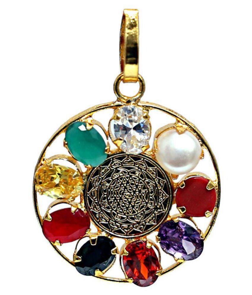 Sarve Badha Mukti Kawach with nine original gemstone.