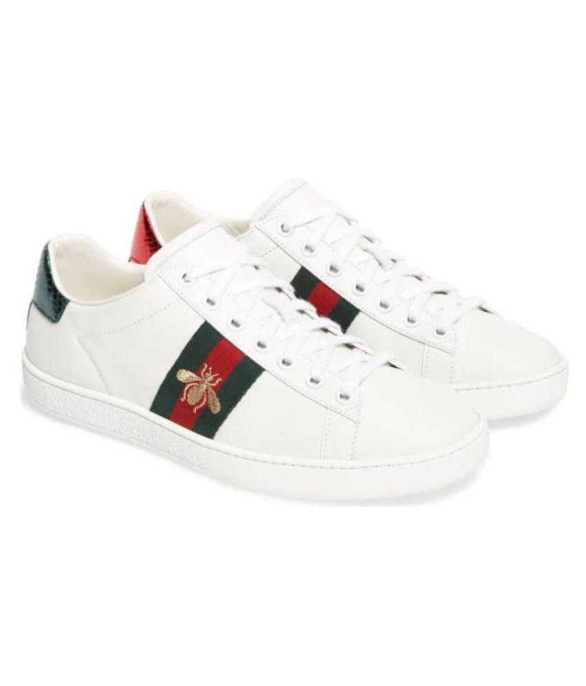 Gucci Lifestyle White Casual Shoes