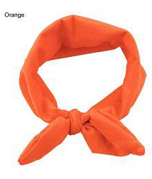 Women Yoga Elastic Cute Bow Hairband Turban Knotted Rabbit Hair Band Headband