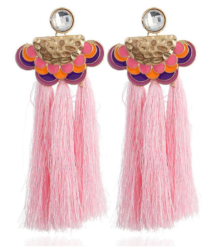 New Women Fashion Earrings Jewelry Trendy Bohemia Style Tassel Earrings Charm Wedding Gift Fashion Jewellery
