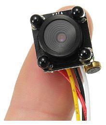 New Smallest CCTV cam 4 LED Night IR DIY Mini Camera HD 600TVL Pinhole Camera With Mic