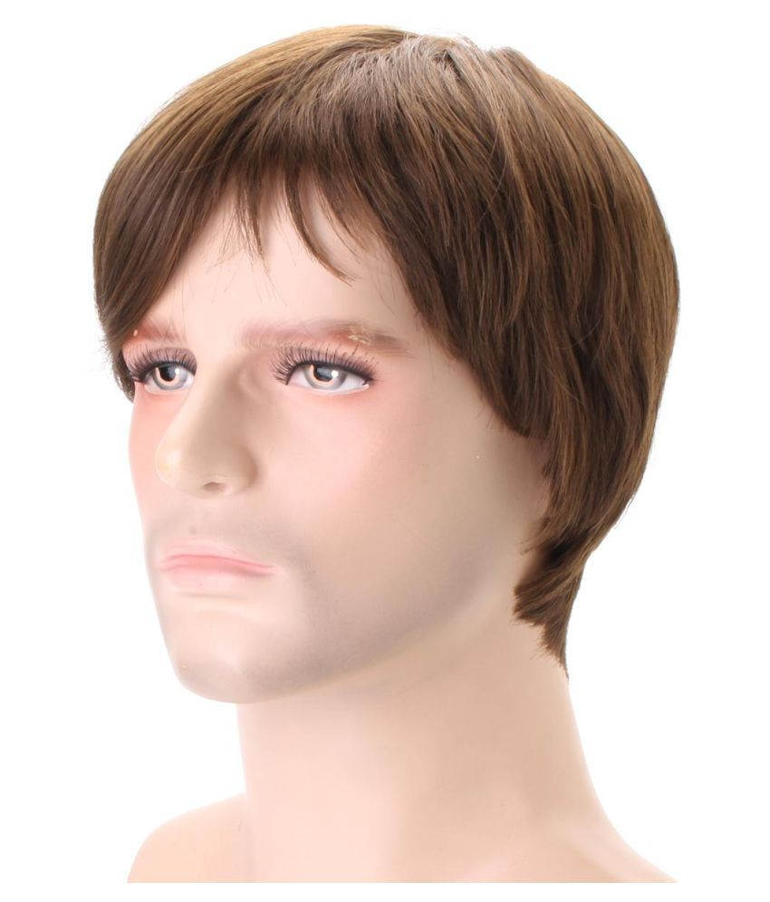 1pc Of Natural Looking Straight Layered Style Men Short Hair Wig Buy 1pc Of Natural Looking Straight Layered Style Men Short Hair Wig Online At Low Price Snapdeal