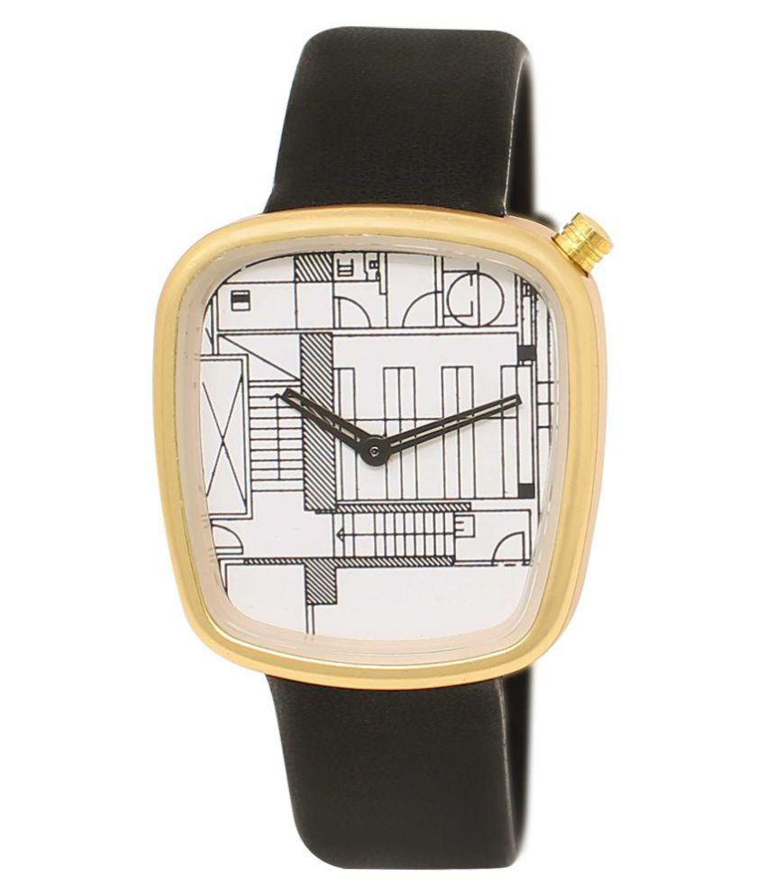 VICEROY ENTERPRISE Leather Square Womens Watch