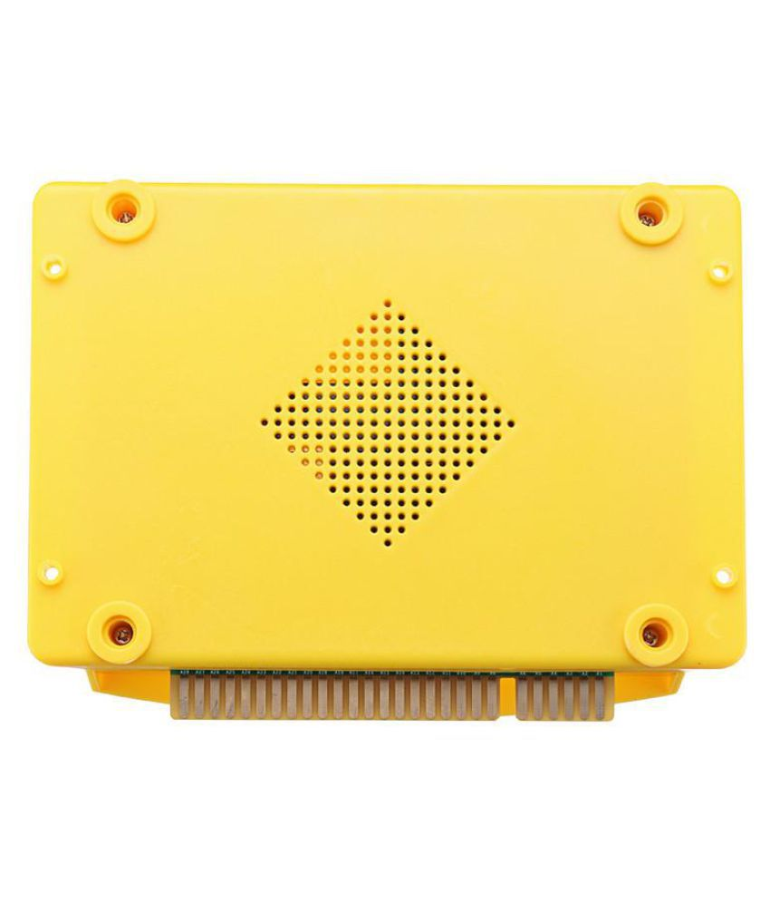 Yellow DIY 999 IN 1 Games Pandora's Box 5S Home Edition Host Game PCB Board  VGA Durable Quality