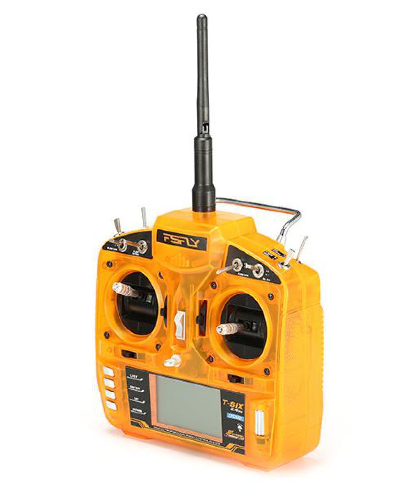 FsFly T-six 2 4GHz 6CH DSM2 Compatible Transmitter For RC Models