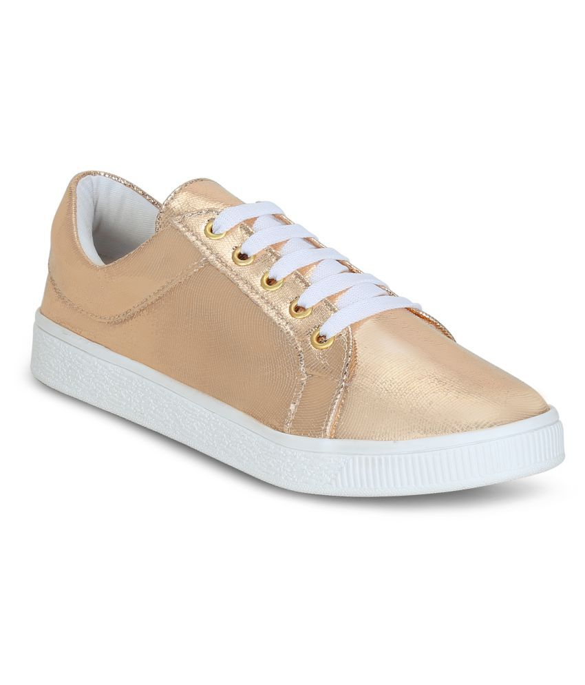 Get Glamr PeachPuff Casual Shoes