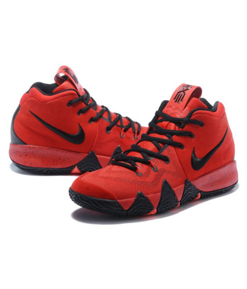 the latest 0d05b 8e2d8 Nike Nike Kyrie 4 Red Black Midankle Male Red