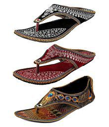 28e1ae71538 Ethnic Shoes: Buy Wedding Shoes for Women Online at Best Prices in ...