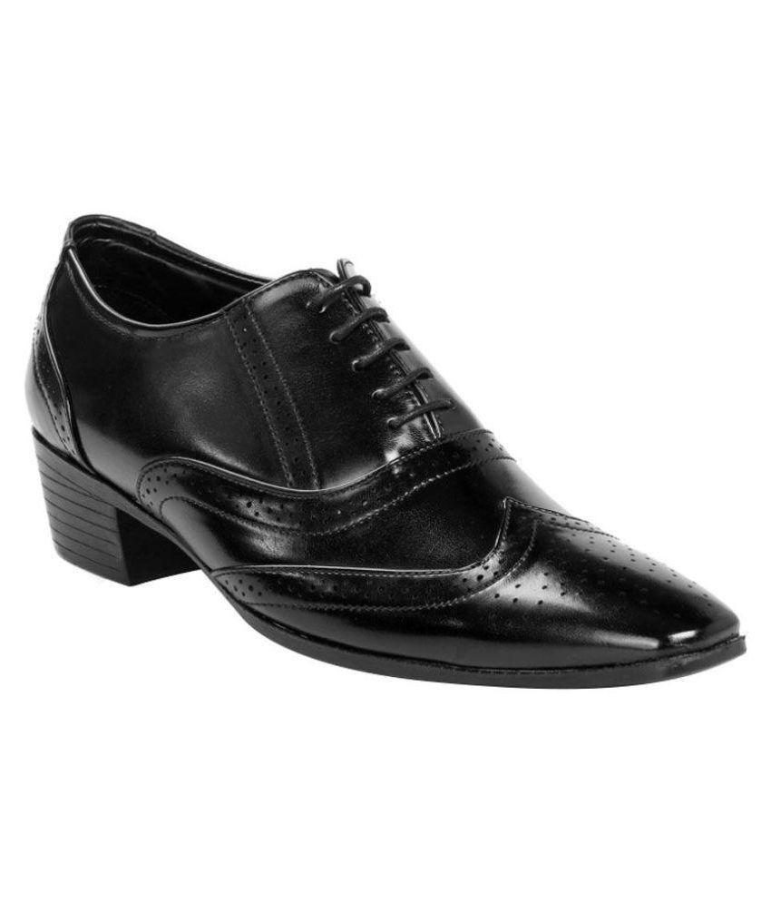 Juta Brogue Genuine Leather Black
