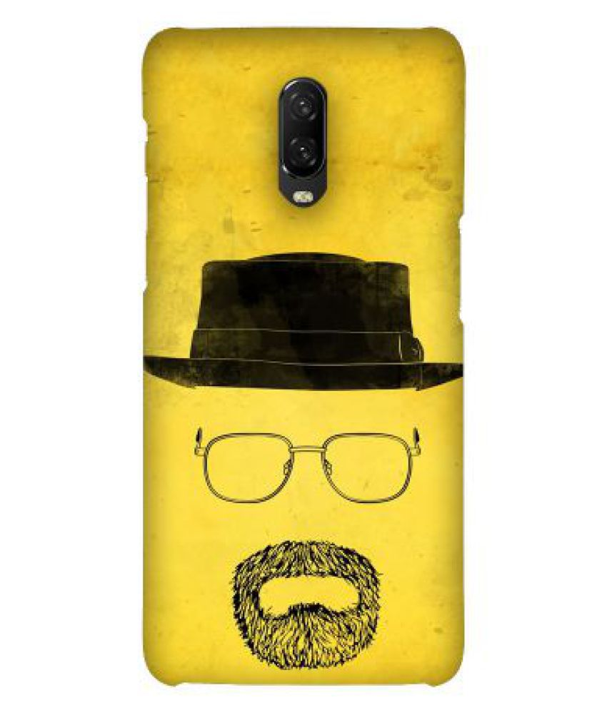 OnePlus 6T Printed Cover By Emble