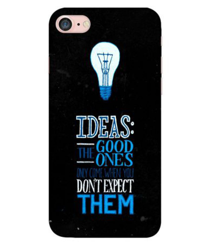 Apple iPhone 7 Printed Cover By Emble
