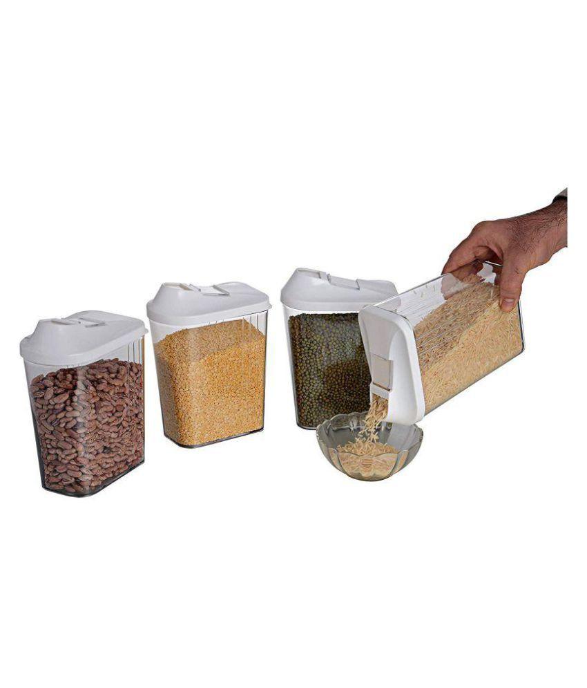 JVS D 246 Polyproplene Food Container Set of 4
