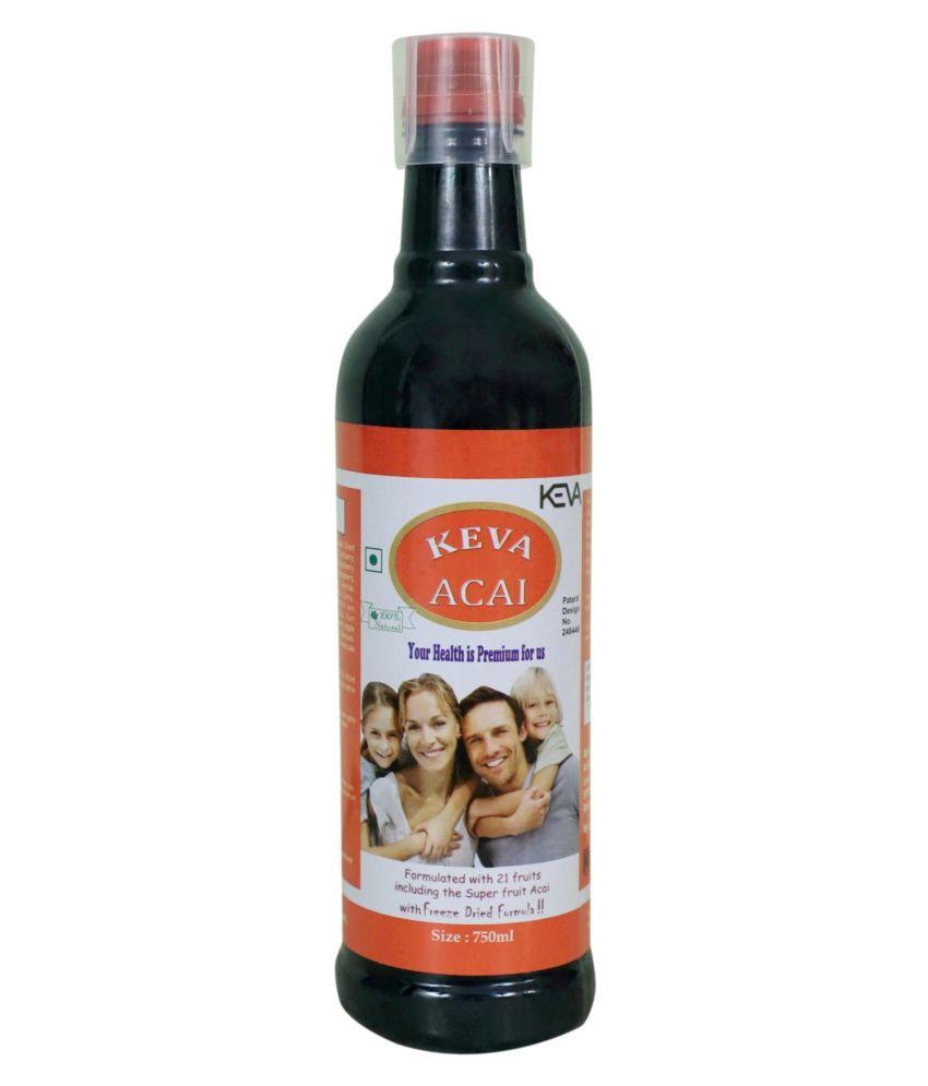 KEVA Acai Berry Juice Liquid 750 ml Pack Of 1