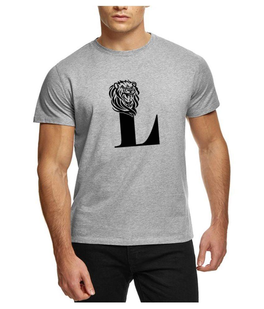 The Heyuze Haat Grey Half Sleeve T-Shirt Pack of 1