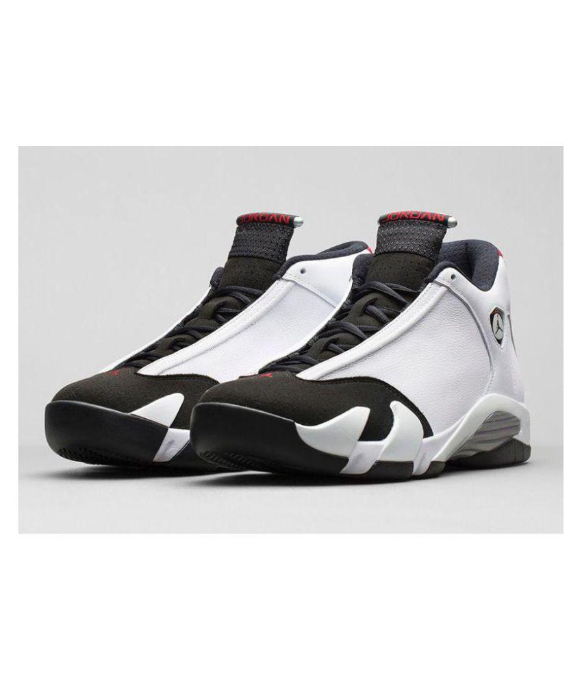 wholesale dealer 95ff2 55648 Nike Air Jordan 14 Ferrari White Black Midankle Male White ...