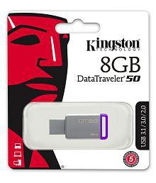 SOMOTO Kingston DataTraveler 8GB USB 3.1 Utility Pendrive Pack of 1