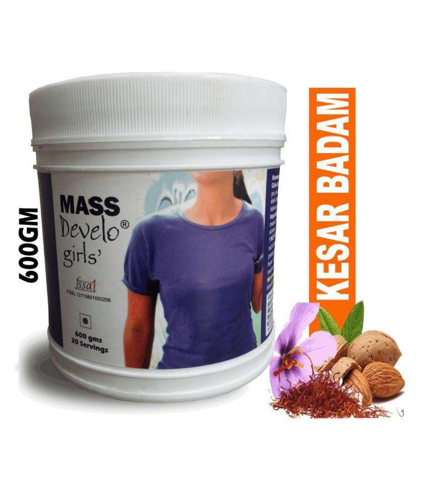 DEVELO WEIGHT GAINER PROTEIN POWDER FOR WOMEN GIRLS 600 gm Weight Gainer Powder