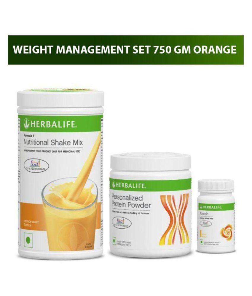 Herbalife Ultimate Weight Management Kit F1 Mango Protein & Afresh Lemon  Health Drink 750 gm