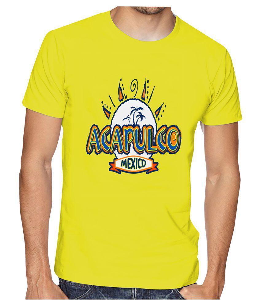 Casotec Blue Half Sleeve T-Shirt Pack of 1