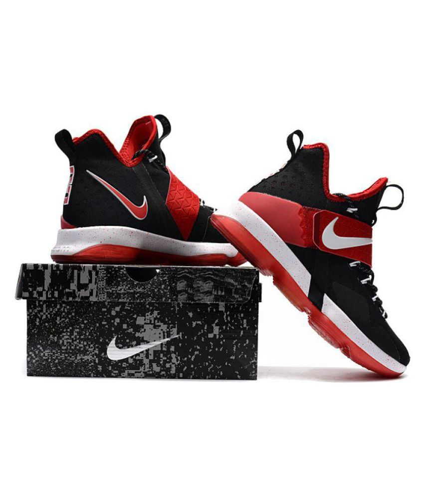 best loved 28954 5d414 Nike 2018 LeBron14 University Red Black Basketball Shoes - Buy Nike 2018 LeBron14  University Red Black Basketball Shoes Online at Best Prices in India on ...