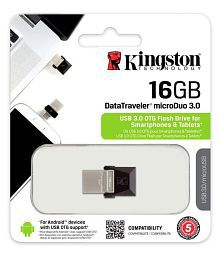SOMOTO Kingston MicroDuo 16GB USB 3.1 Utility Pendrive Pack of 1
