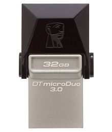 SOMOTO Kingston MicroDuo 32GB USB 3.1 Utility Pendrive Pack of 5