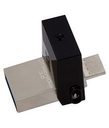 SOMOTO Kingston MicroDuo 64GB USB 3.1 Utility Pendrive Pack of 1