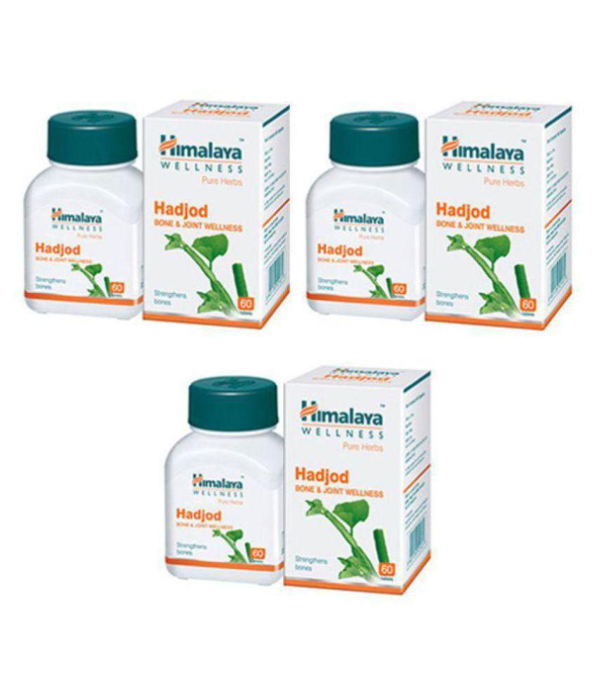 Herbalshoppe Himalaya Hadjod (60x4=240) Tablet 60 no.s Pack Of 4