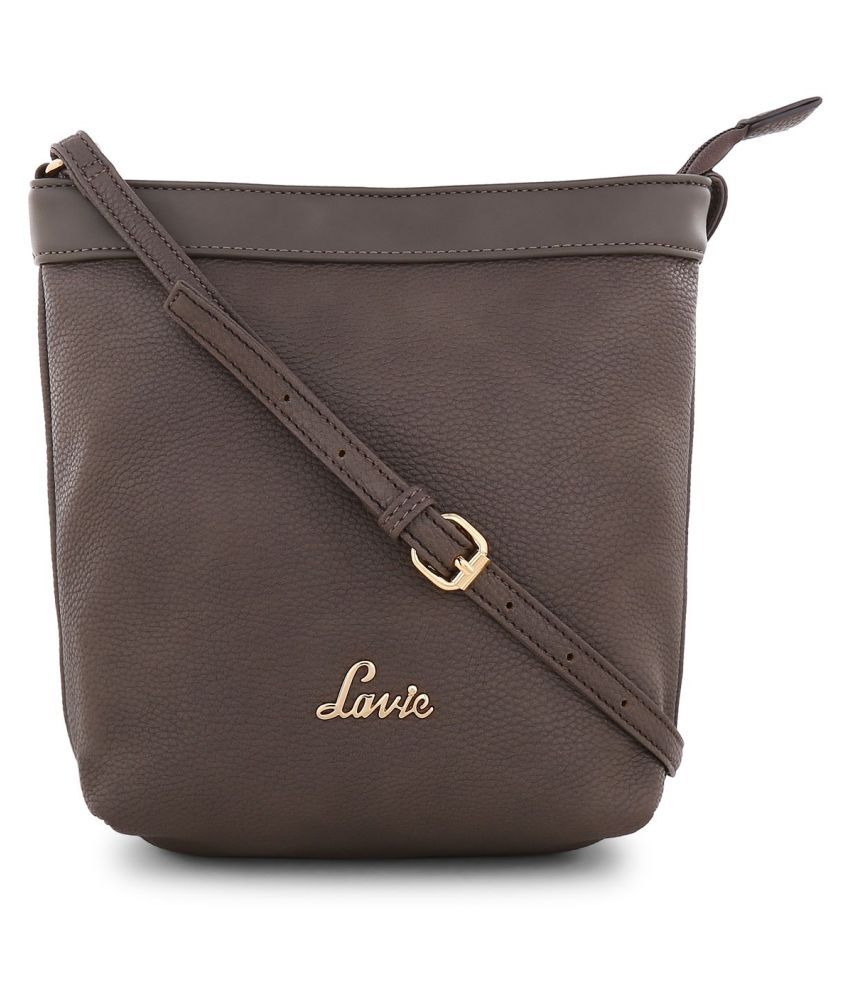 Lavie Gray P.U. Shoulder bag