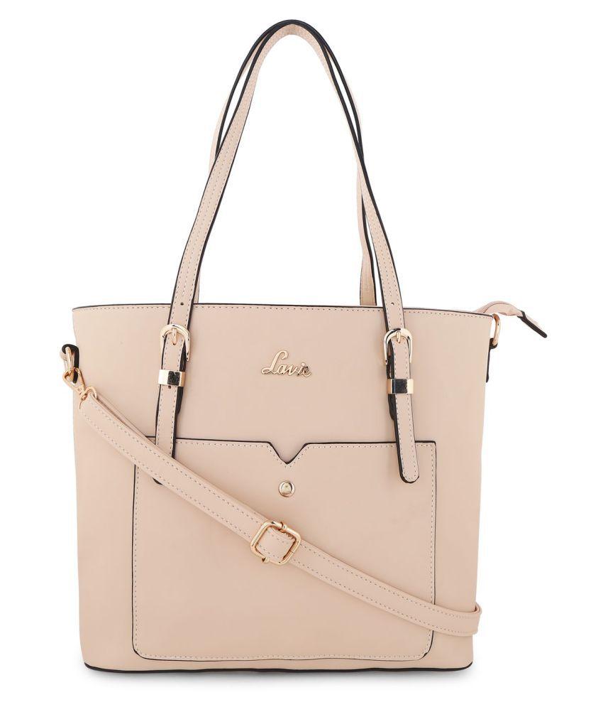 Lavie White P.U. Shoulder bag