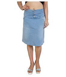 fa7d826bca27c8 Denim Skirt: Buy Denim Skirt Online at Best Prices in India - Snapdeal
