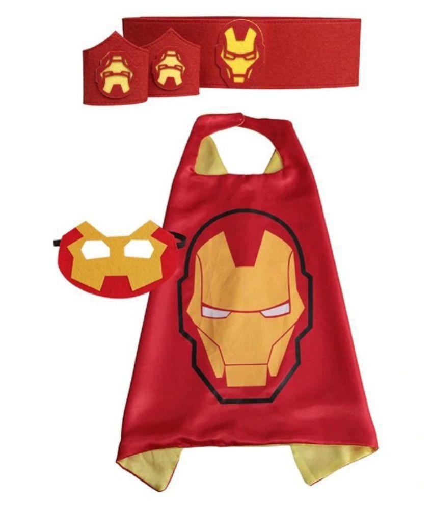 Children/'s Iron Man Cape and Mask Set