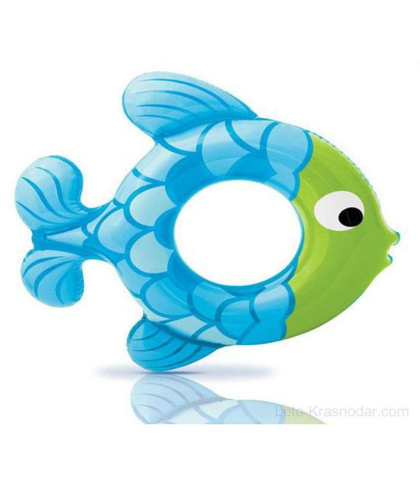 SWIM ALONG RINGS BLUE-GREEN FISH (59222) FOR 3-6 YEARS