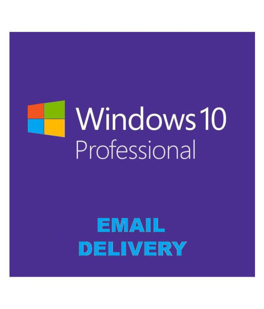 Microsoft Windows 10 Pro - Email Delivery 32/64 Bit ( Activation Card )