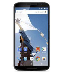 Motorola White Silver Google Nexus 6 (3 GB RAM) 64GB