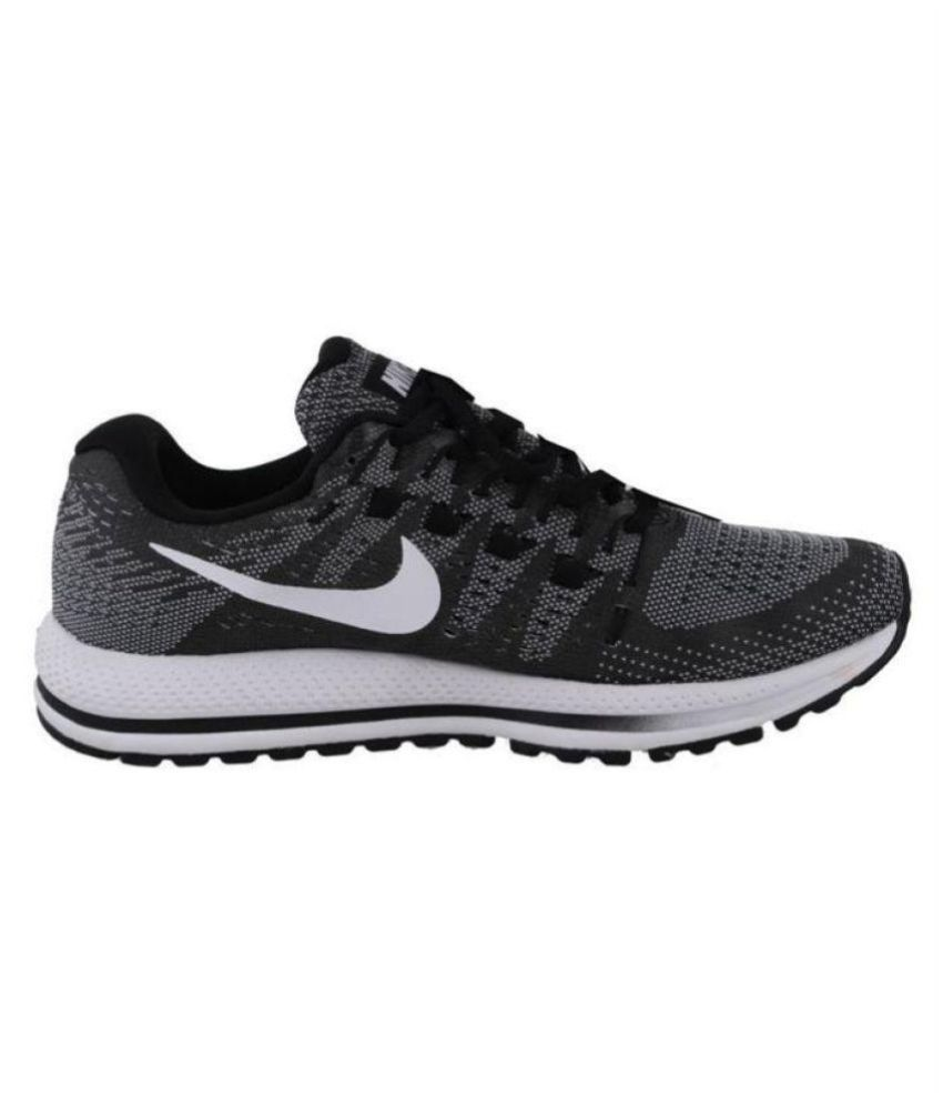 8cef30006b9 Nike AIR ZOOM VOMERO 14 Running Shoes Black  Buy Online at Best Price on  Snapdeal