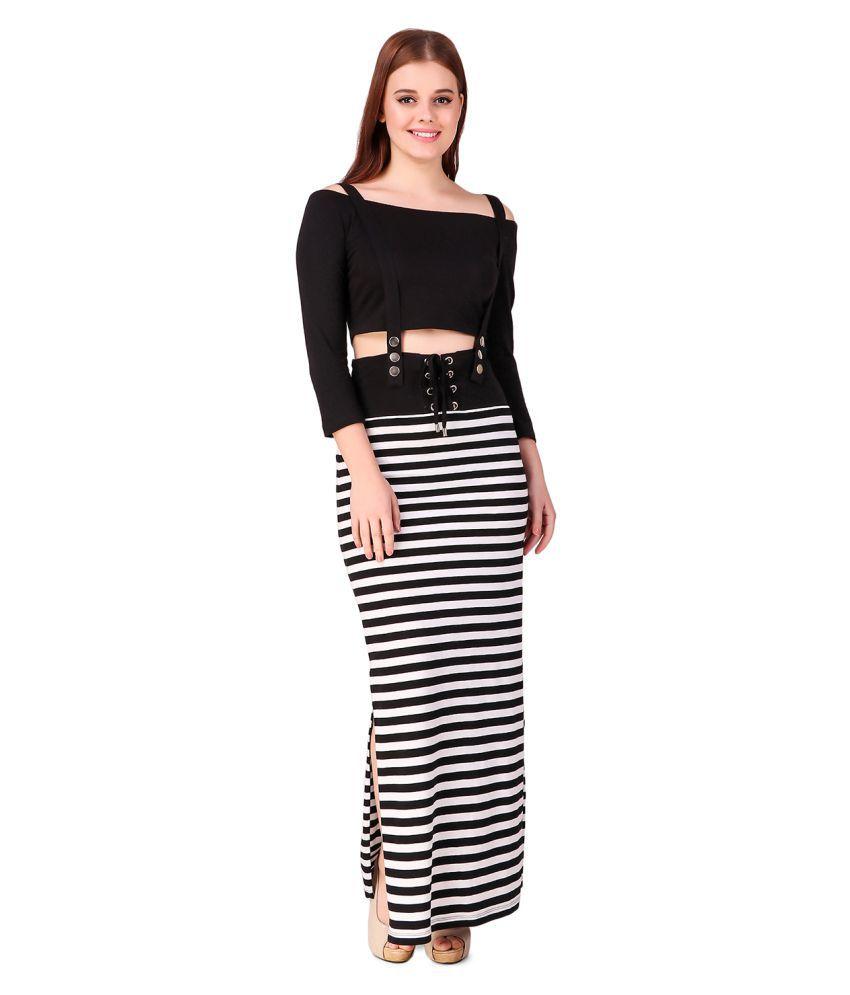 Texco Cotton Multi Color A- line Dress