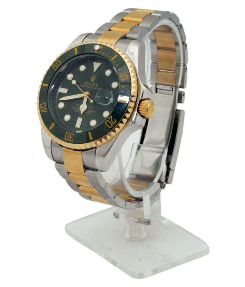 98e4c9233 Oyster Rolex 112101 Stainless Steel Analog Men's Watch - Buy Oyster Rolex  112101 Stainless Steel Analog Men's Watch Online at Best Prices in India on  ...