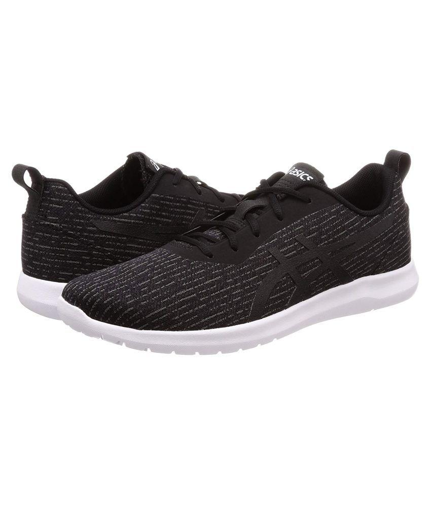 Asics KANMEI 2 Sports Black Running Shoes