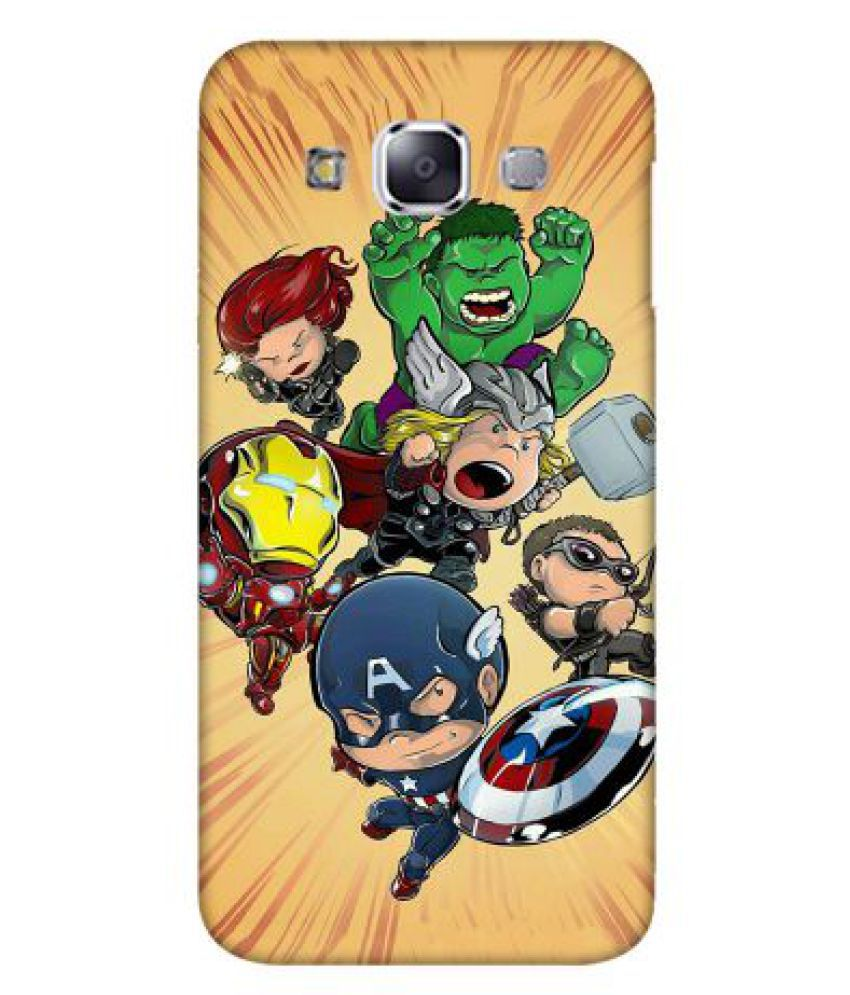 Samsung Galaxy E7 Printed Cover By Emble