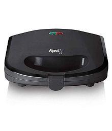 Pigeon Black Toaster 750 Watts Sandwich Toaster