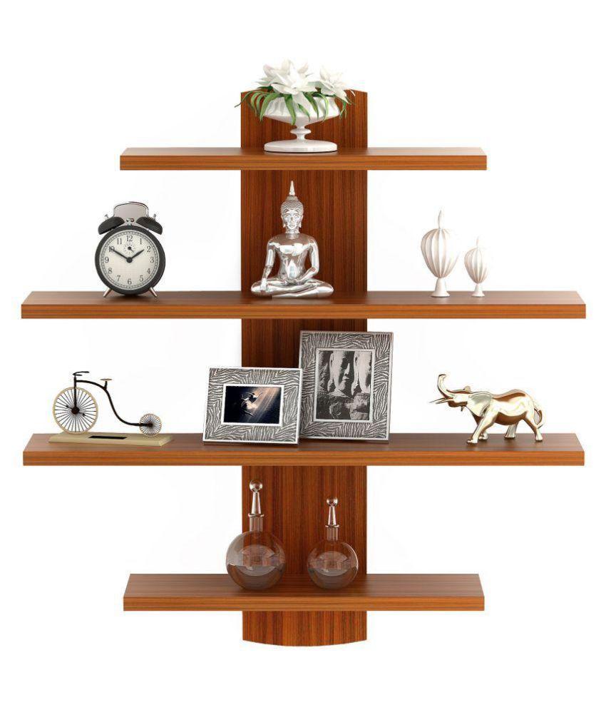 Bluewud Caselle Lifestyle Wall Shelf/Display Rack
