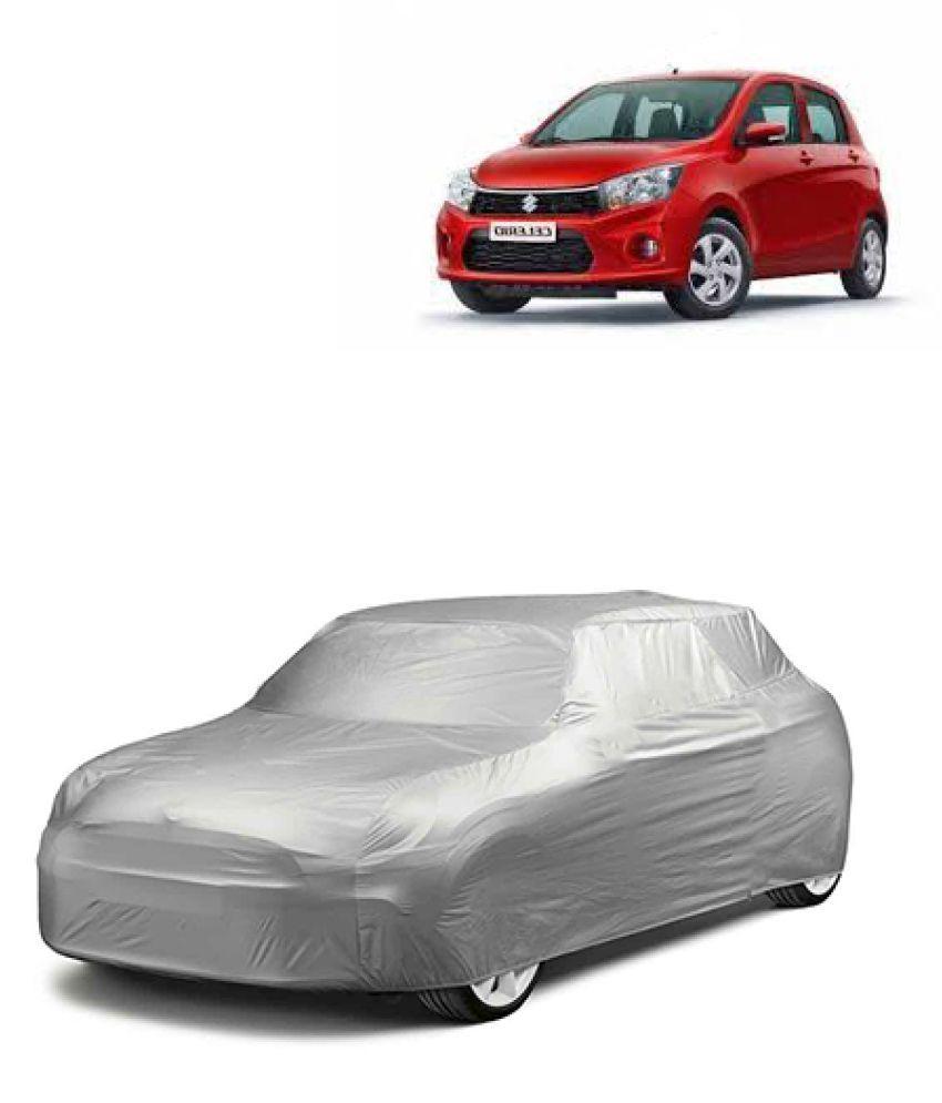 QualityBeast Car Body Cover for Maruti Suzuki Celerio [2014-2015] Silver: Buy QualityBeast Car